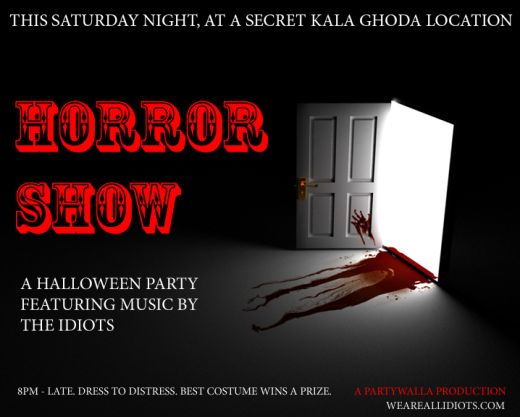 horrorshow flyer